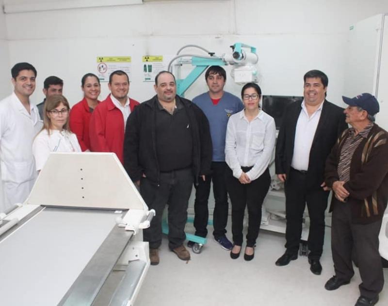 Equipo de Rayos X Portátil para el Hospital ...